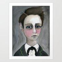 Arthur Rimbaud Soleil et chair, Victorian Writers Portrait Art Print