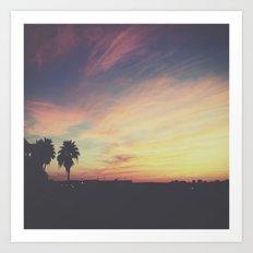 Forever Sunsets Art Print