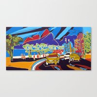I love Ipanema Canvas Print