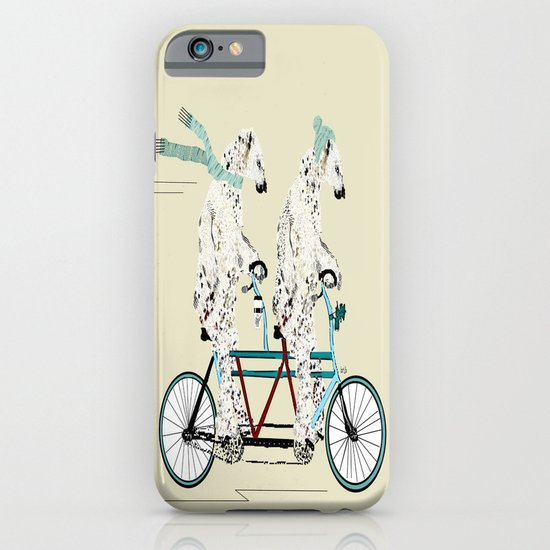 polar bears lets tandem iPhone & iPod Case