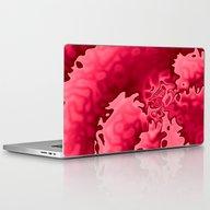 Bubble Gum Curlicue Laptop & iPad Skin
