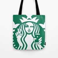 Selfie - 'Starbucks ICONS' Tote Bag