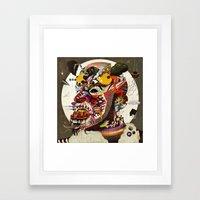 Mr. Nice Framed Art Print