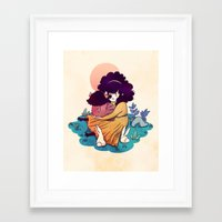 Sisters 5/5 Framed Art Print