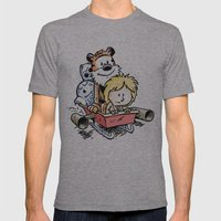 Not the Droids! Mens Fitted Tee Athletic Grey SMALL
