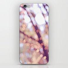 Glitter in the air iPhone & iPod Skin