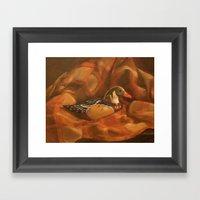 Duck! Framed Art Print