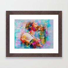 Travie McCoy Framed Art Print