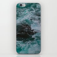 Big Sur Waves iPhone & iPod Skin