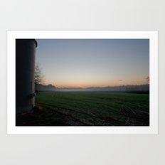 Rural Morning Art Print