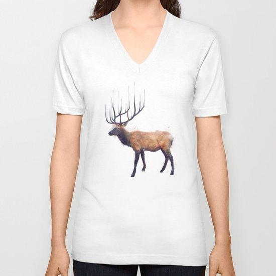 Elk // Reflect (Left) V-neck T-shirt