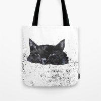 zzz cat Tote Bag