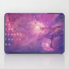 The Places You'll Go II iPad Case