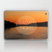 Summer Nights Laptop & iPad Skin