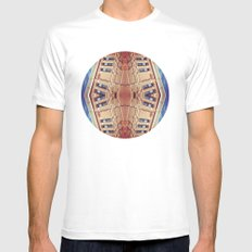 Building Center Mens Fitted Tee White SMALL