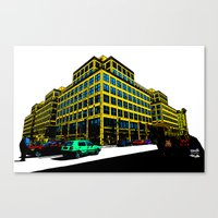 Berlin City Canvas Print