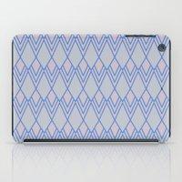 Art Deco Diamond Teardro… iPad Case