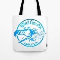 Black Chocobo Riders Club Tote Bag