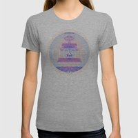 Create Womens Fitted Tee Athletic Grey SMALL