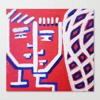 Pieces 3 Canvas Print