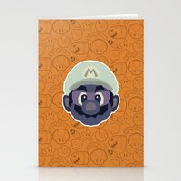 mario Stationery Cards featuring Mario by Kuki