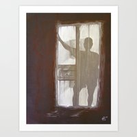 Shadowman Art Print