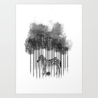Natural Prisoner Art Print