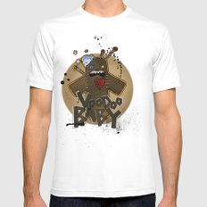 Voodoo Baby White Mens Fitted Tee SMALL