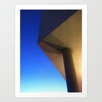 The Sky Has Corners Art Print