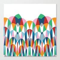 Modern Day Arches Canvas Print