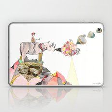 Rhinos Smell Roses Too Laptop & iPad Skin