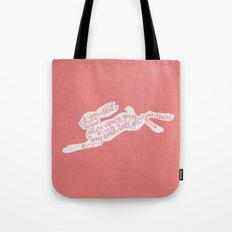 Alice in wonderland - pink Tote Bag