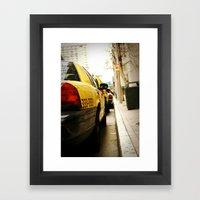 Cab Love Framed Art Print