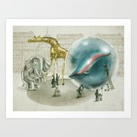 The Glass Menagerie Art Print