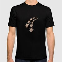 constellation Mens Fitted Tee Black SMALL
