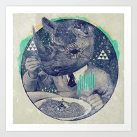 twilight Art Prints featuring TWILIGHT by Steven Kline
