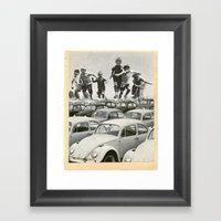 Slug Bug Framed Art Print