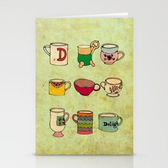 My Mugs! Stationery Card