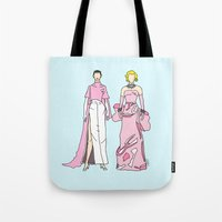 Pretty in PINK it like Audrey and Marilyn Tote Bag