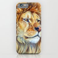 iPhone & iPod Case featuring Lion 851 by S-Schukina