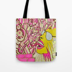 The Most Gigantic Lying Mouth Tote Bag