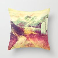 The Moment's Passed Throw Pillow