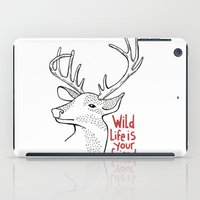 Wildlife Is Your Friend iPad Case