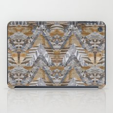 Wood Quilt 2 iPad Case