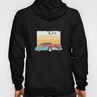 Vintage Car Illustration Hoody