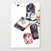 Mark It Zero Canvas Print