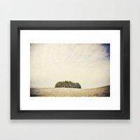 Tree party Framed Art Print