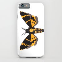 iPhone & iPod Case featuring Deaths Head by Tom Canty Illustration