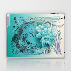 Subsea floral Laptop & iPad Skin
