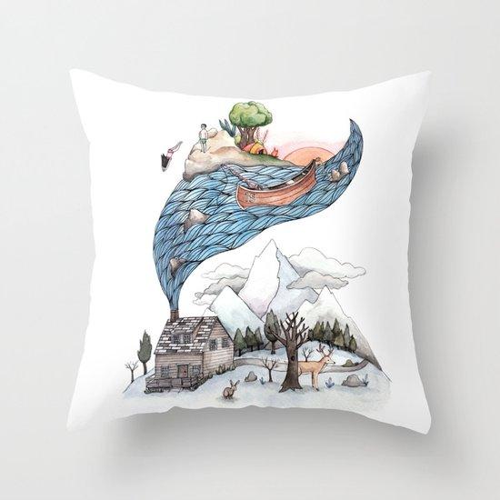 Invincible Summer Throw Pillow